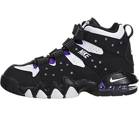 buy popular 70f2b a6a39 Nike Kids Air Max CB 94 (GS) Black White Pure Purple - Import It All
