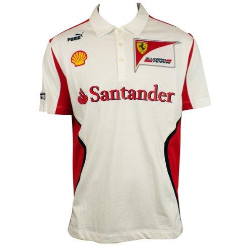 85c4bae5fd028f Puma Mens SF Scuderia Ferrari Formula 1 One Team Polo Shirt Tee Motorsport  XL  Amazon.co.uk  Clothing