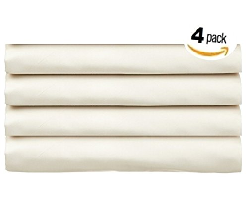 ProCare Flat Hospital Bed Sheets, Ivory 4pk by ProCare (Image #2)