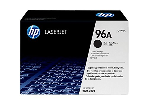 HP 2100 / 2200 Genuine Toner Cartridge C4096A 96A - Hp Laserjet 2100tn