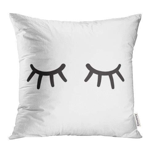 Fundas de almohada decorativas con diseño de ojos de pestaña ...