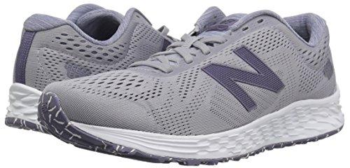 New Balance Women's Fresh Foam Arishi V1 Running Shoe, Light Grey/Purple, 5 B US by New Balance (Image #6)
