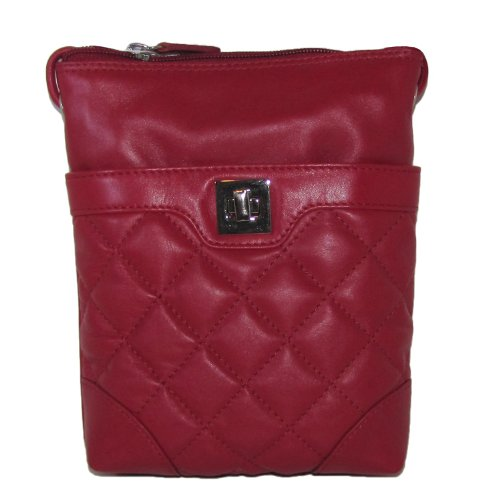 Cross Sac Leather Mini Quilted Red body Handbag 4qPxwwE