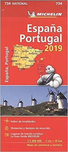 Mapa National Espana Portugal Michelin 9782067236707 Amazon