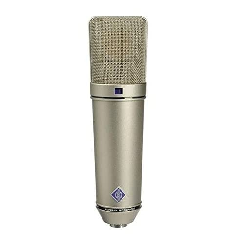 Neumann U 87 Ai Switchable Studio Microphone - Nickel Color