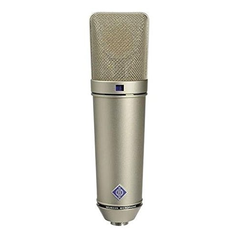 Neumann U 87 Ai Switchable Studio Microphone - Nickel Color ()