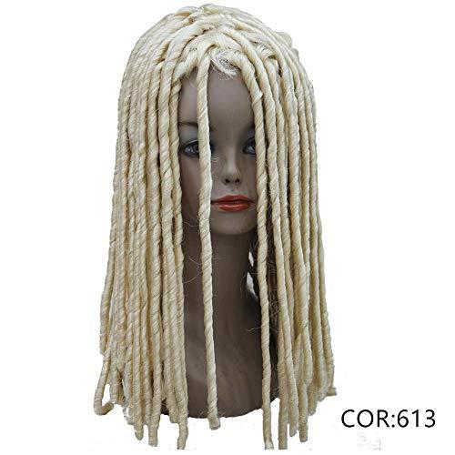 Twist Hair Crotchet Braids Wigs Synthetic Dreadlocks Braids Hair Wig #613 -