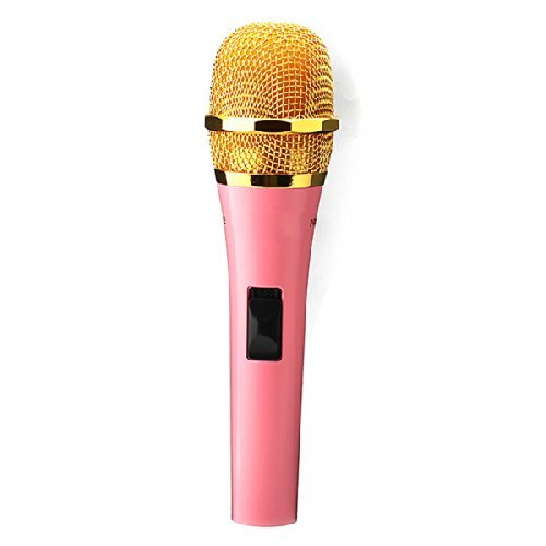 Neewer® Pink Professional Moving Coil Dynamic Handheld Condenser Microphone For PC Recording SY-18K