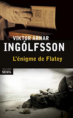 Amazon Com L Enigme De Flatey Seuil Policiers French