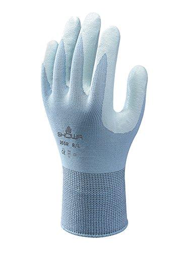 gute Griffigkeit Gr/ö/ße: S 265 Handschuh hellblau Showa Gloves SHO265-S Nr