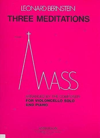 Bernstein: Three Meditations from MASS (Bernstein Mass Sheet Music)