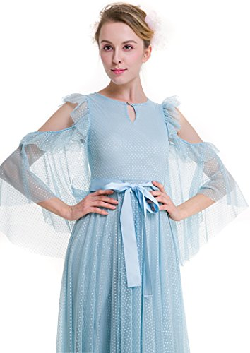 Acvip Femme Robe Robe Trapèze Acvip Bleu wdz8gqgY4x