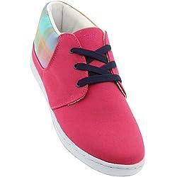 Keep Men KP001HHP (pink / hot pink / berry plaid) Size 5.0 US