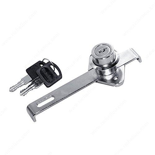 Mini Gang Lock, Key Type Keyed Alike #1, Finish Chrome HandyCT