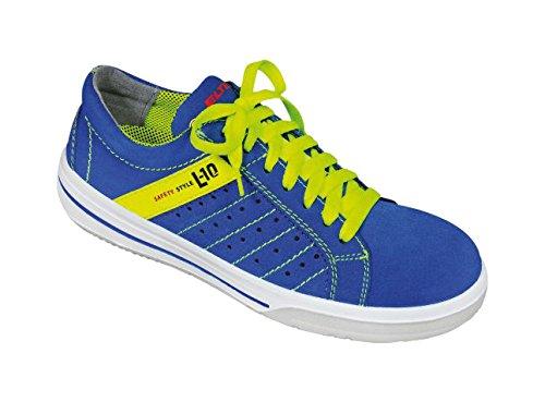 Elten Sneaker S1P protagonista, scarpe, Breezer blue Low ESD Blu (Blu)