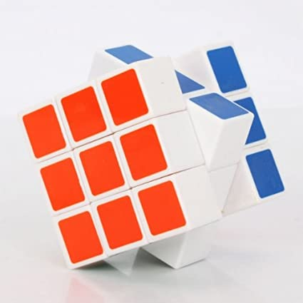 DS 3x3x3 5.8cm Magic Intelligence Test Cube White for Playing Toy & Gift
