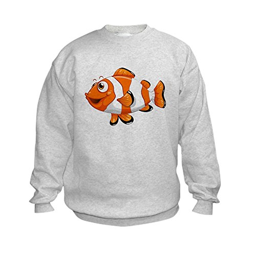 Truly Teague Kids Sweatshirt Happy Clown Fish - Large (14-16)