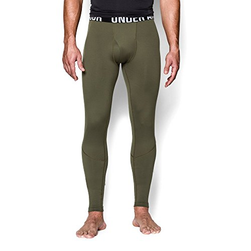 Marine Green (Under Armour Men's ColdGear Infrared Tactical Fitted, Marine Od Green/Marine Od Green, X-Large)