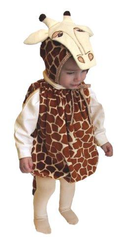 Mullins Square Giraffe Baby Costume, Tan Spots - 6-18 Months