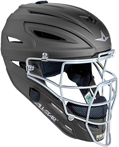 (All-Star System 7 Matte Catchers Helmet Black)