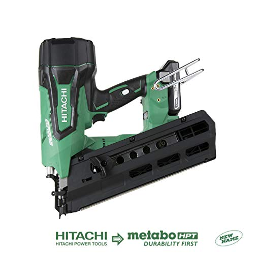 "Hitachi NR1890DR 18V Cordless Brushless Plastic Strip 3-1/2"" Framing Nailer (Discontinued by the Manufacturer)"