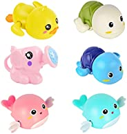 E-WOR Bath Toys, Baby Bath Toys for Toddlers 1-3, Mold Free Bath Toys for Kids Ages 4-8 & Toddlers 3-4 Yea