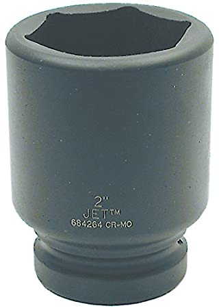 Jet 1-Inch Drive, 6 Point, SAE Impact Socket JET Equipment & Tools 684188