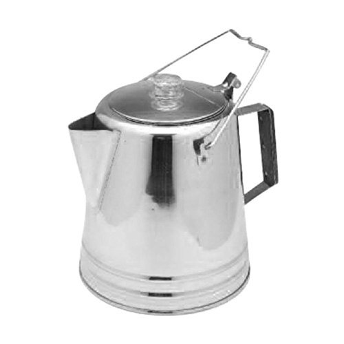 Texsport 28 Cup Stainless Steel Percolator by Texsport