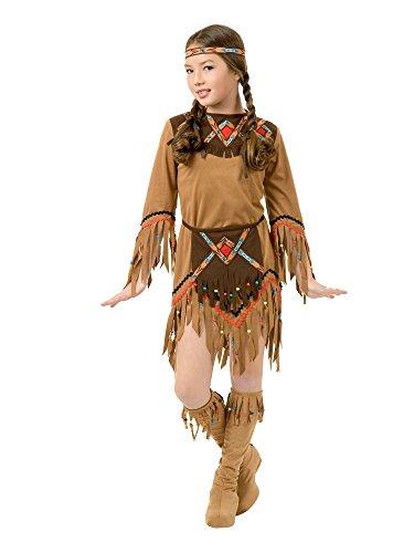 Indian Maiden Child Costume (Partyland Indian Maiden Girl, Child (6-8) Costume)