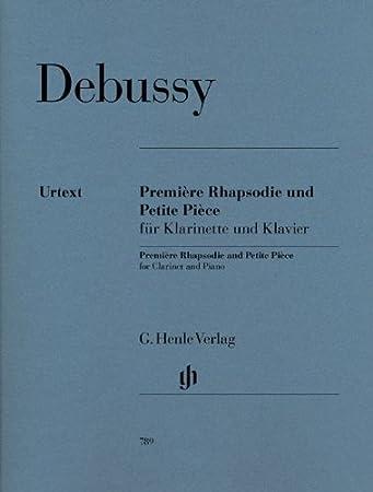 HENLE VERLAG DEBUSSY C Note classiche per clarinetto e PETITE