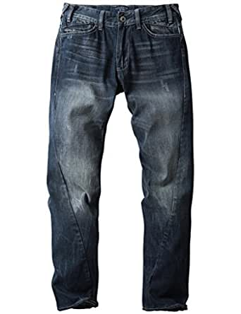 Match Men's Regular Fit Straight Leg Jeans #M1252(29W x 33L,M1252)