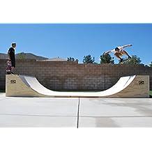 3.5 Foot Tall Skateboard Mini Halfpipe (8 Foot Wide)