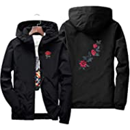 Dreamyth Unisex Long Sleeve Sports Zipper Solid Color Jacket Top Hoodie Jacket Autumn Casual...