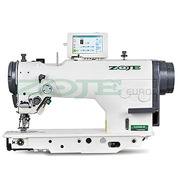 ZOJE de la Industria de Coser - Zigzag y Puntada Recta - Completamente Automático - La Industria Máquina de Coser industriales - Completo (con Mesa y ...
