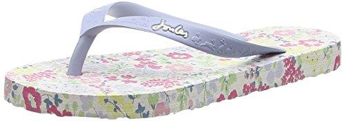 Joules JNR Girls Flip Flop (Toddler/Little Kid/Big Kid), Cream Ditsy, 1 M US Little Kid
