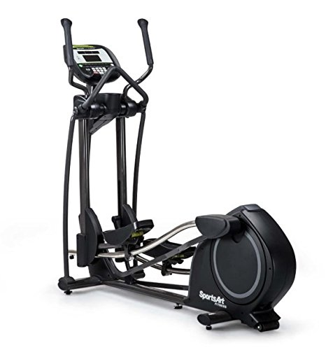 Ironcompany.com SportsArt Fitness E840 Foundation Series Elliptical Trainer - Electronic Stride and Resistance - Residential and Light Commercial Elliptical Cross Trainer (Light Commercial Elliptical)