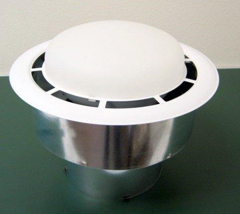 Lighted Bathroom Fan (Ventline Vertical Exhaust Lighted Bath Fan V2244-50 CFM)