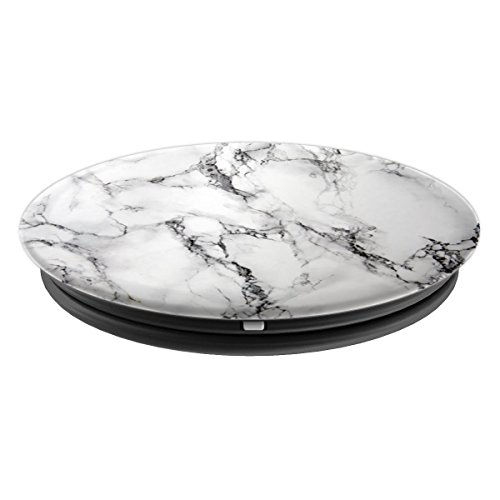 Taj White Marble - PopSockets Grip and Stand for Phones and Tablets by ArtHouse Phone Grips (Image #1)