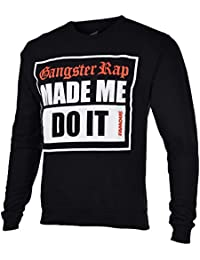 Men's G-Rap Crewneck Sweatshirt-Black