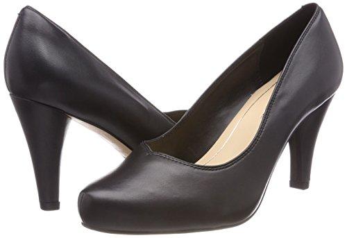 Dalia Leather Rose Noir Escarpins Femme black Clarks gqyvdg