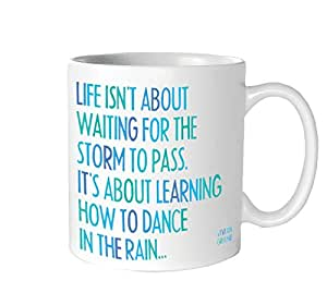 Quotable Life Isn't About Mug