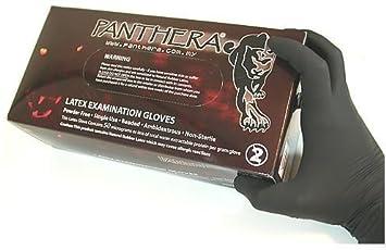 100 X Panthera Powder Free Latex Tattoo Gloves SMALL