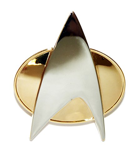 Star Trek the Next Generation Metal Communicator -