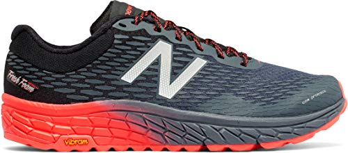 New Balance Men's HIEROV2 Trail Running Shoe, Outer Space/Black/Alpha Orange, 12 D US