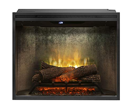 Cheap DIMPLEX RBF30WC Revillusion 8794 BTU / 2575W 30 Inch Wide Built-in Vent-Free Electric Fireplace with Weathered Concrete Interior and Remote Control Black Friday & Cyber Monday 2019