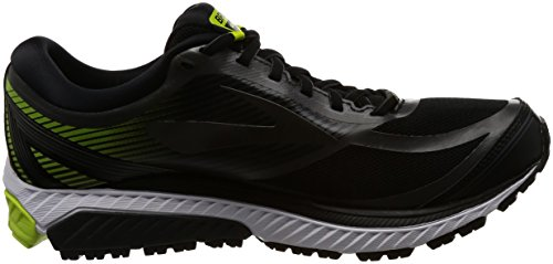 Brooks Mens Ghost 10 Gtx Nero / Ebano / Lime Popsicle