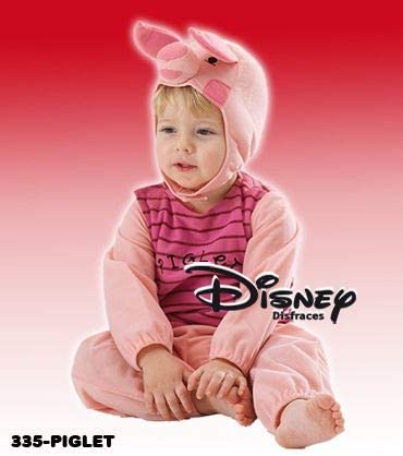 Disfraz de Piglet Disney 12-18 meses para bebés: Amazon.es ...