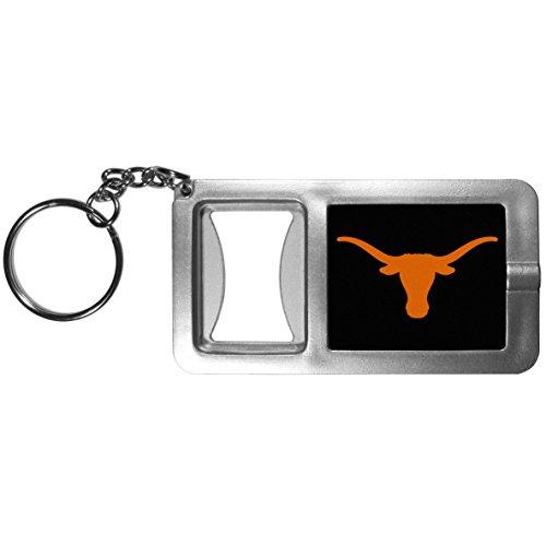 NCAA Texas Longhorns Flashlight Key Chain with Bottle ()