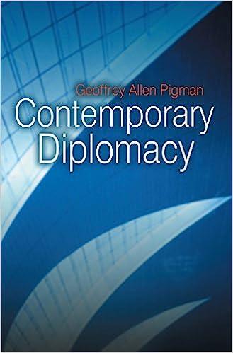 Amazon com: Contemporary Diplomacy (9780745642796): Geoffrey