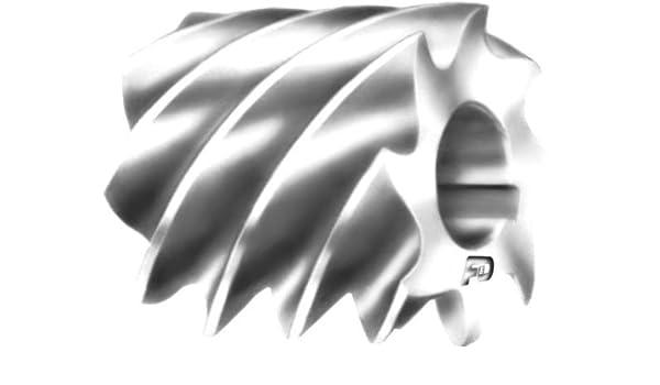 High Speed Steel 2 1//2 Width of Face 1 1//4 Hole Size F/&D Tool Company 10573-A216 Plain Milling Cutter 3 Diameter Heavy Duty